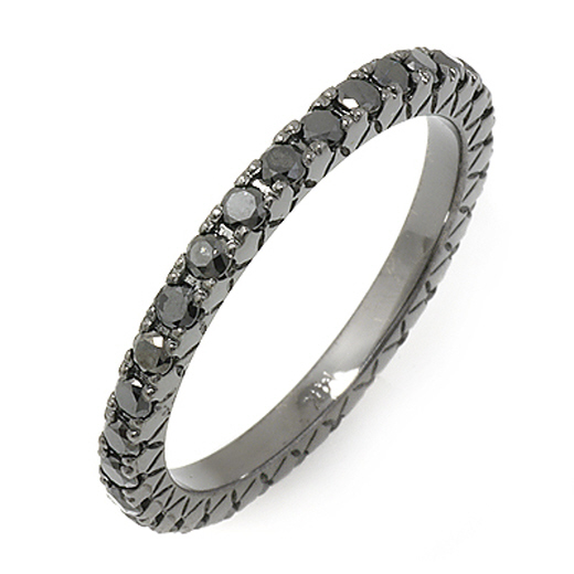 Gina Amir Black Diamond Eternity Band