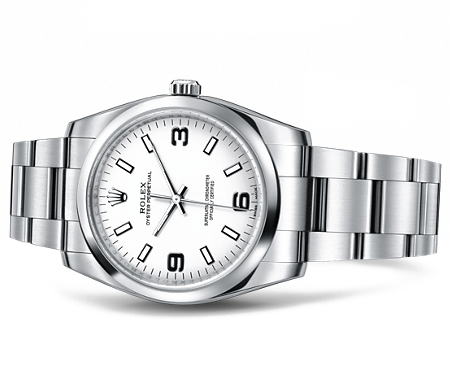 gina amir vin gol rolex watch white face with bracelet.png