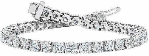 068c5ebfb19 Diamond Tennis Bracelet in 18k White Gold (10 ct. tw.)