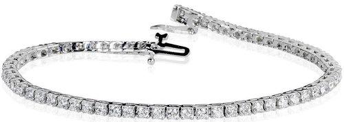 5da415d2b Round Brilliant 3.00 ctw VS2 Clarity, I Color Diamond 14kt White Gold  Bracelet