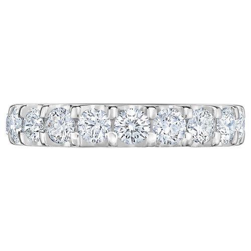 551fea835 Round Brilliant 3.00 ctw VS2 Clarity, I Color Diamond Platinum Eternity Band
