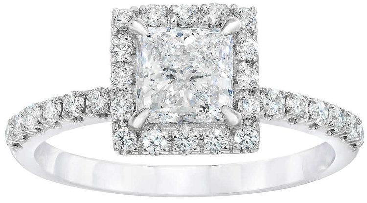 Princess+Cut+2.05+ctw+VS2+Clarity,+E+Color+Diamond+Platinum+Halo+Ring+.jpg