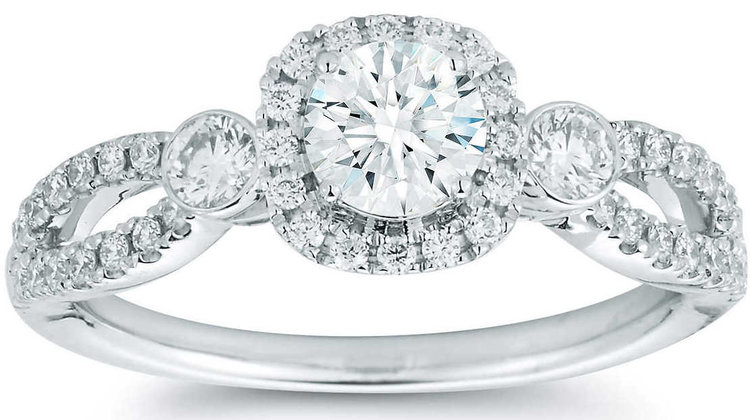 Round+Brilliant+0.90+ctw+VS2+Clarity,+I+Color+Diamond+14kt+White+Gold+Ring.jpg