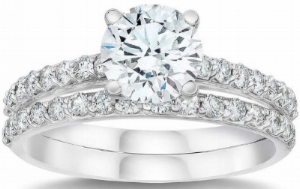 Round+Brilliant+2.75+ctw+VVS2+Clarity,+H+Color+Diamond+Platinum+Wedding+Set+1.jpg