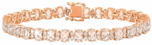 Oval+Cut+Morganite+and+Diamond+14kt+Rose+Gold+Bracelet+1.jpg