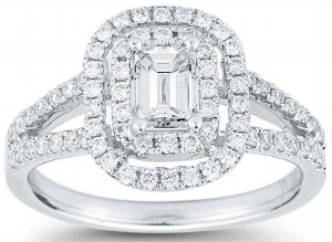 Emerald+Cut+&+Round+Brilliant+1.23+ctw+VS2+Clarity,+I+Color+Diamond+Platinum+Ring.jpg