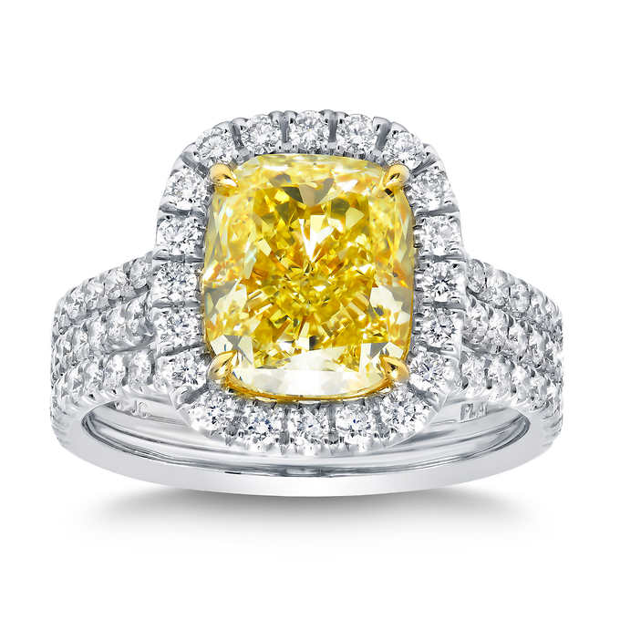fancy yellow diamond engagement ring and band set.jpg