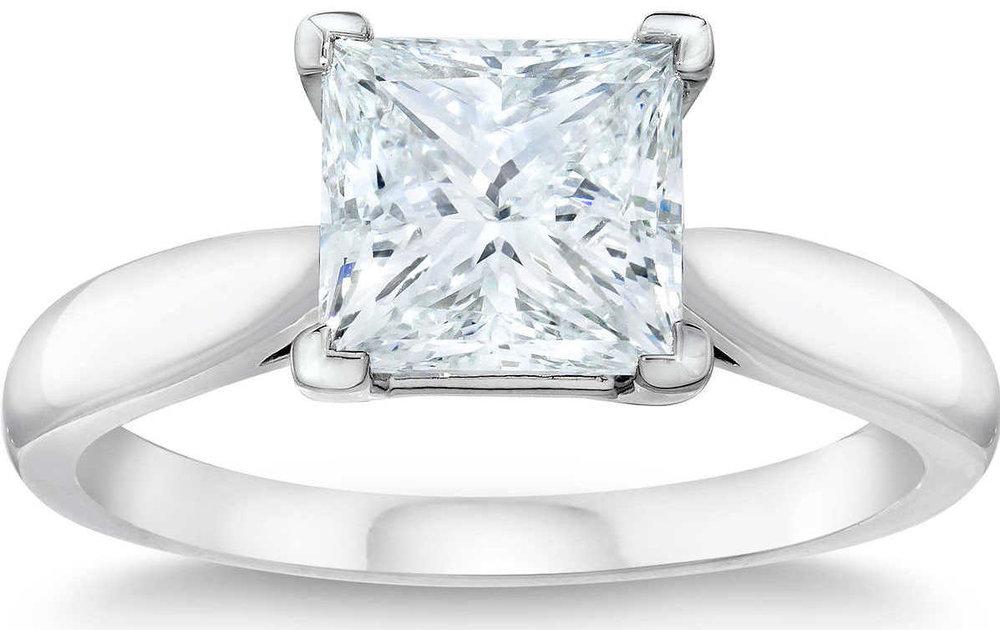 Princess+Cut+3.12+ct+VVS2+Clarity+G+Color+Diamond+Platinum+Solitaire+Ring.jpg