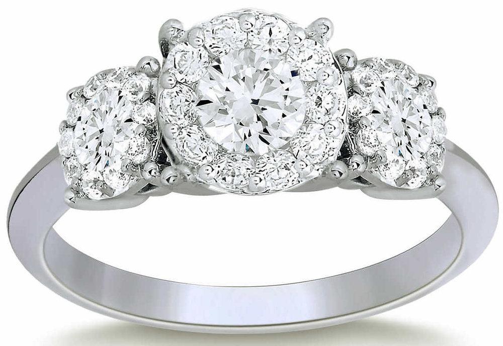 Round+Brilliant+1.44+ctw+VS2+Clarity,+I+Color+Diamond+Platinum+Three+Stone+Ring+1.jpg