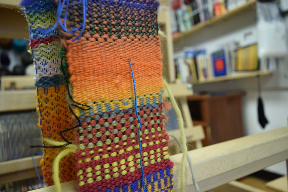 Weaving Workshops are available throughout the year! Corporate Team Building, Wine and Weaving, Birthday Parties, Wool Farms.