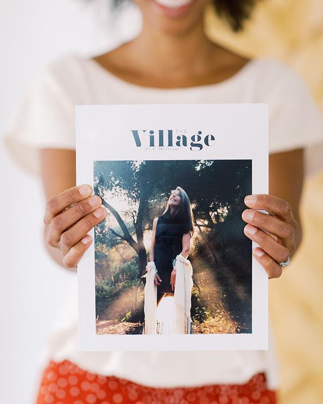 """I want to raise my children to overcome fear. Fear of failure, Fear of rejection, Fear of anything & everything that can stand in their way..."" ✨ From in issue no.4 of #TheVillage written by Heather Templeton.  Happy Sunday! #BringingBackTheVillage"