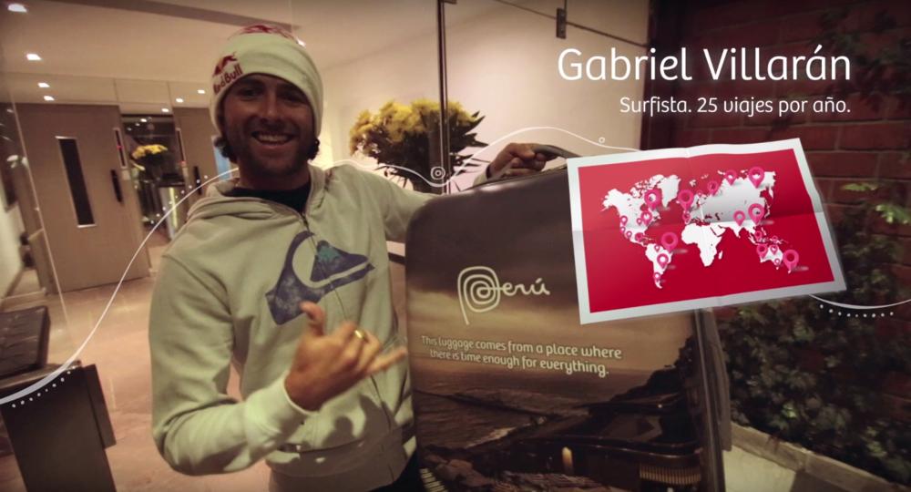 Gabriel Villarán - Surfista