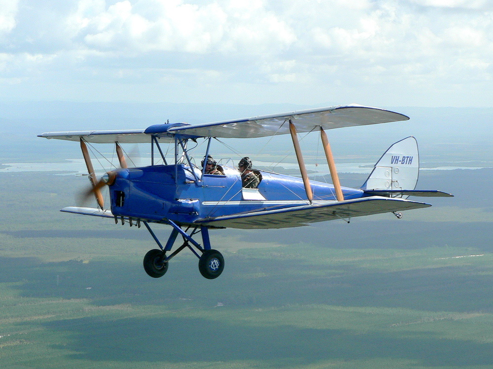 de Havilland Tiger Moth 1931-1945