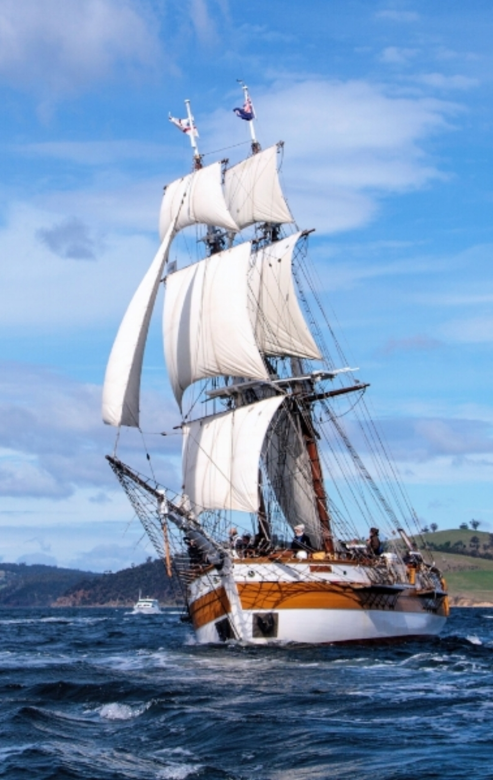 Lady Nelson  - The Paynesville Classic Boat Rally and Lady Nelson are excited to offer a unique opportunity of a lifetime. Take part in one or both voyages from Hobart to Paynesville and return in February and March 2018. To find out more and book online Click Here