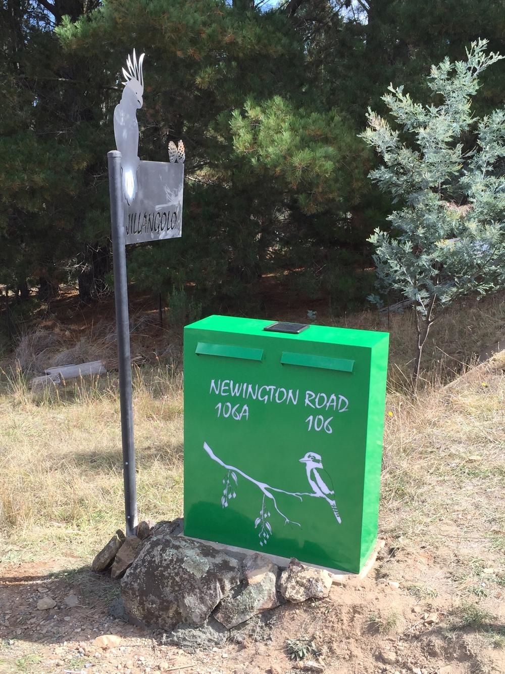 Kookaburra Letterbox 1.JPG