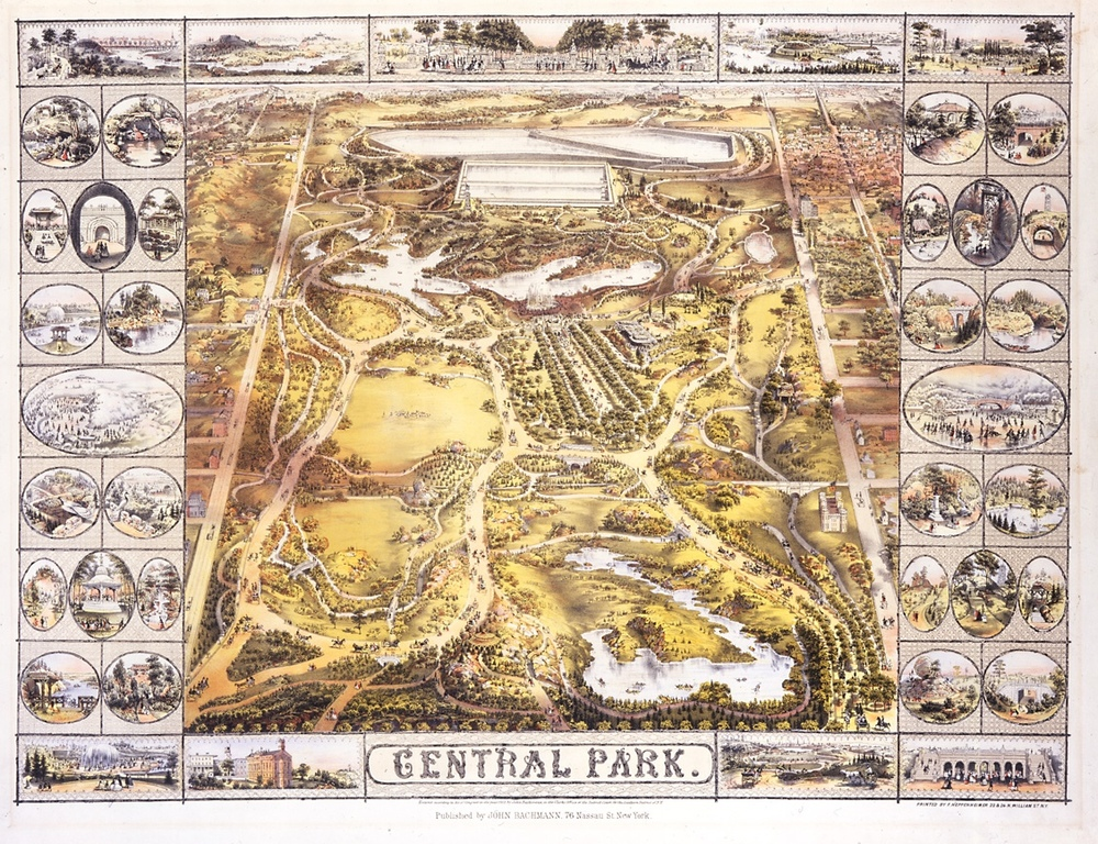 Greenswald: Olmstead and Vaux's awards winning design for Central Park (NY Historical Society)