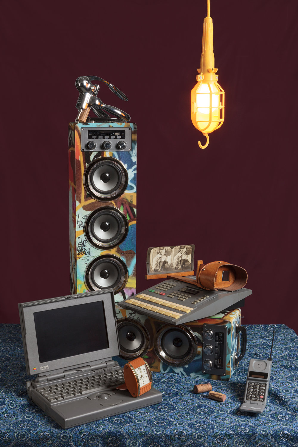 Tech Vanitas: Graffiti Speakers