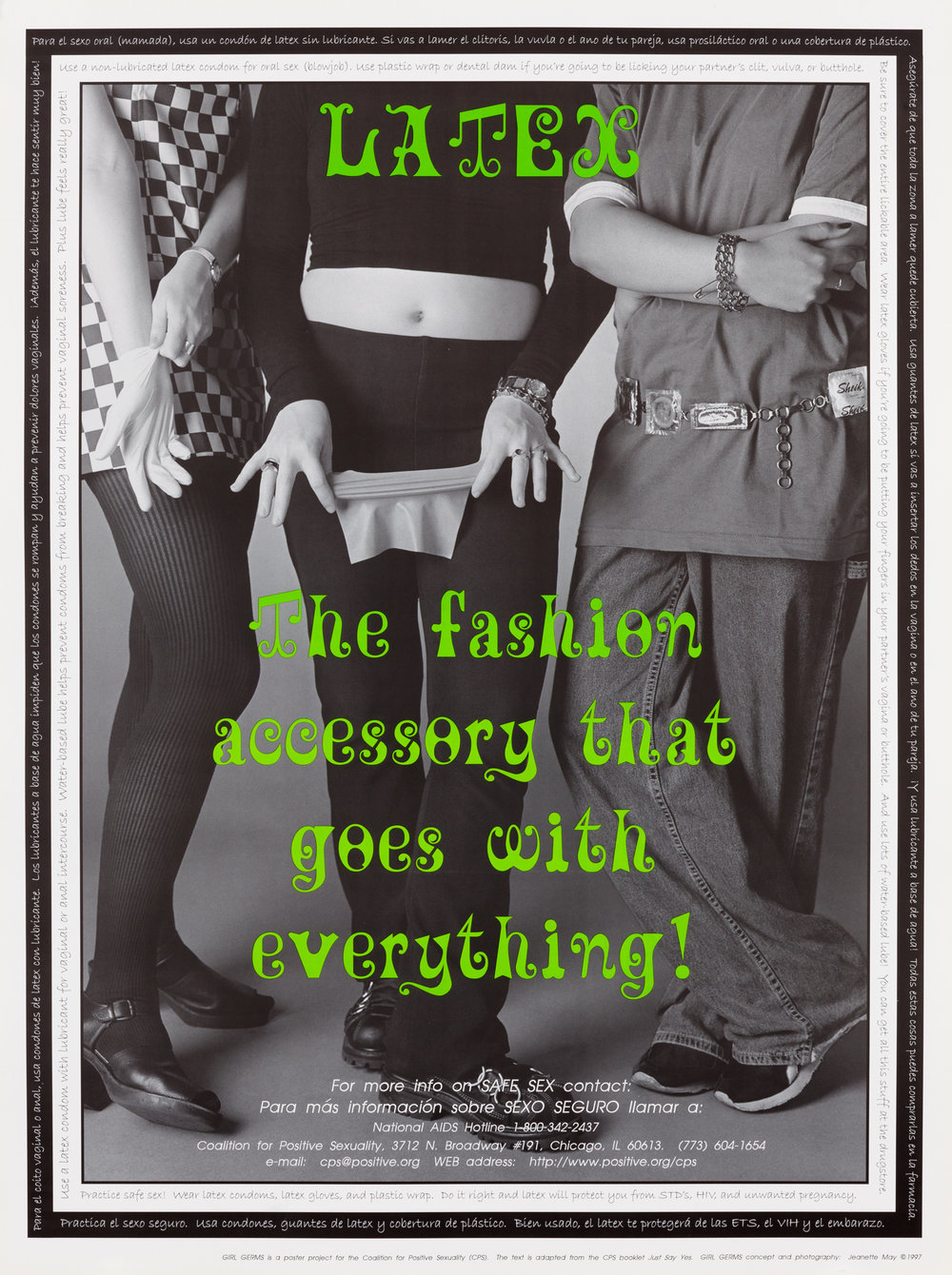 Latex: The fashion accessory that goes with everything!