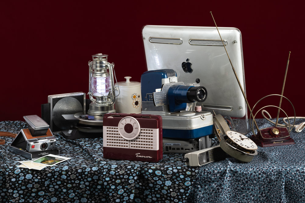 Tech Vanitas: Polaroid SX70