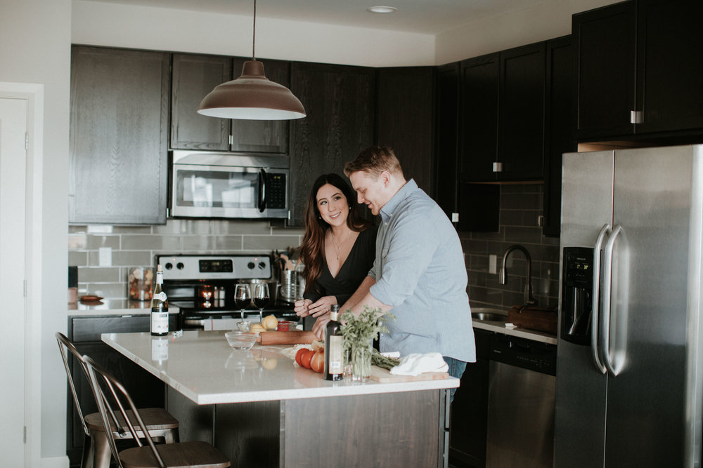 RYAN + RENEE - ROMANCE IN THE KITCHEN