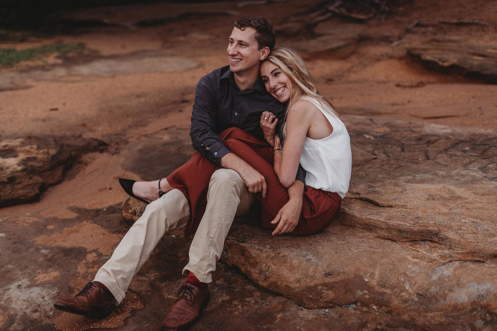 KAYLA + AUSTIN - ADVENTURES IN NATURE