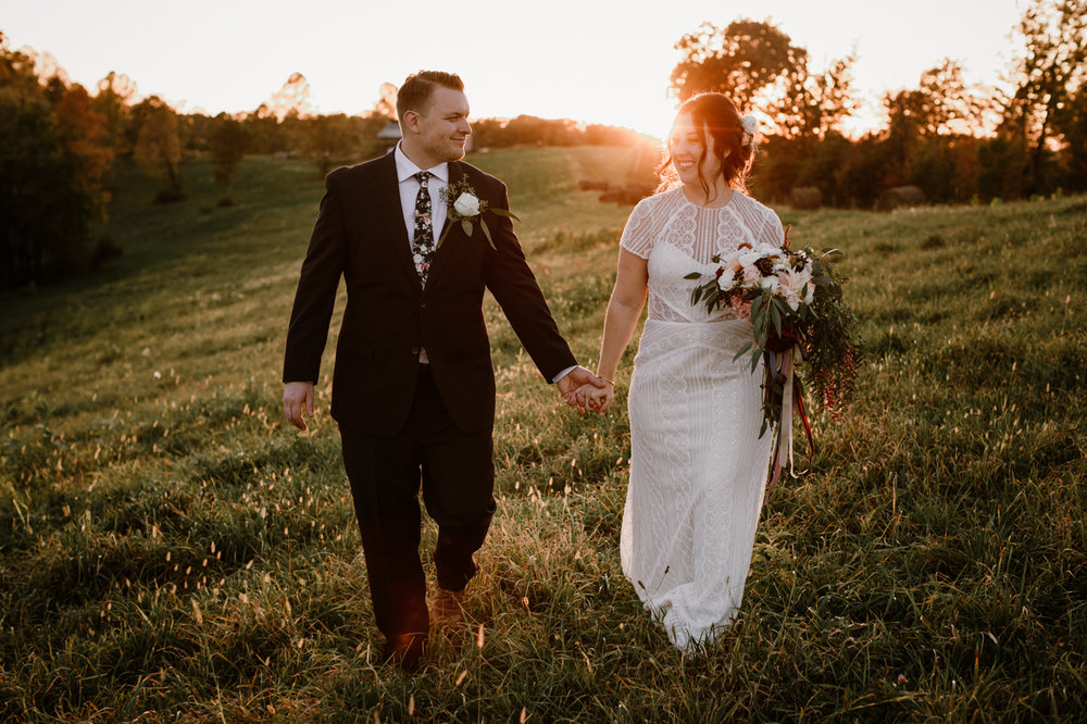 Renee & Ryan - GORGEOUS RIVERCREST FARM WEDDING