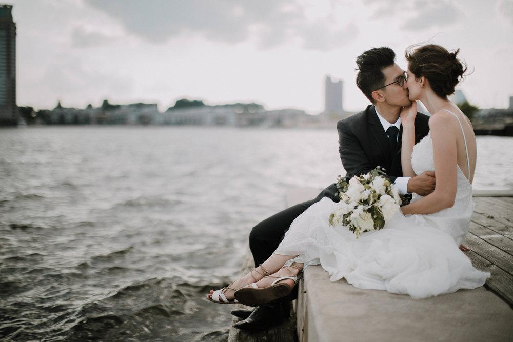 IVAN & JEN - WEDDING ON THE WATERS OF BALTIMORE