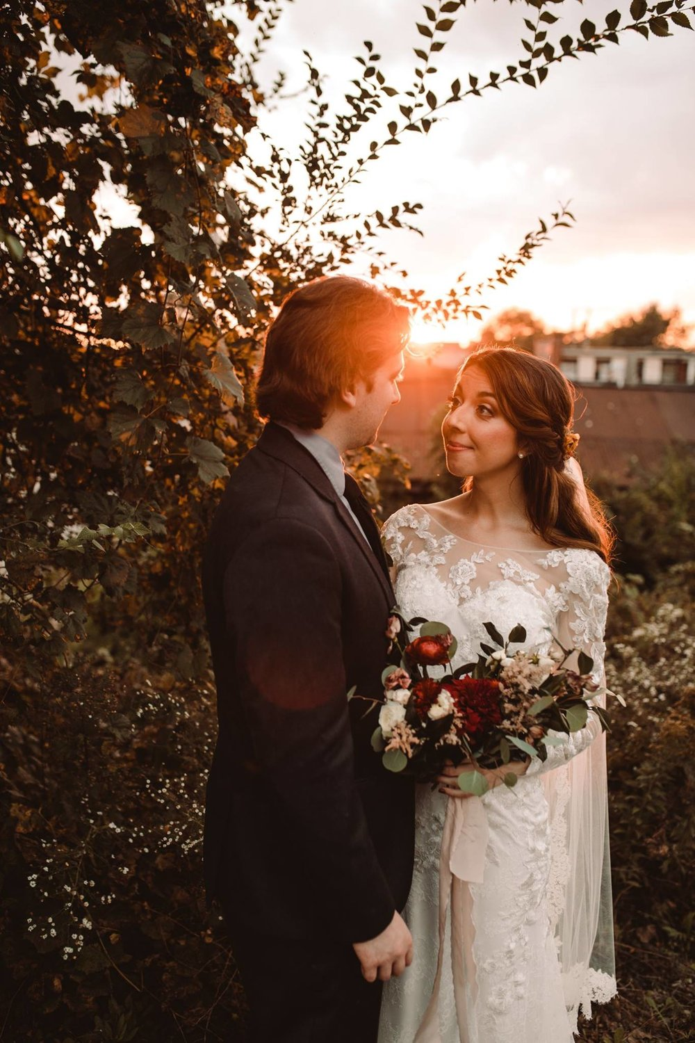 """- """"Caroline is down to earth, creative, and committed to making your special day unforgettable. Don't hesitate - book her now! ❤️""""-Elizabeth & Sean"""