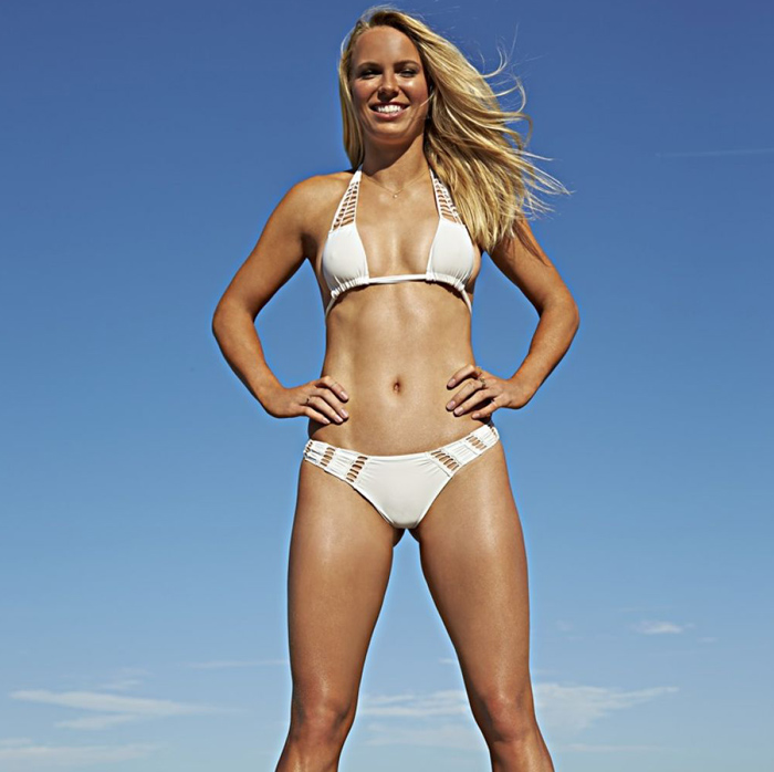 CAROLINE WOZNIACKI SPORTS ILLUSTRATED