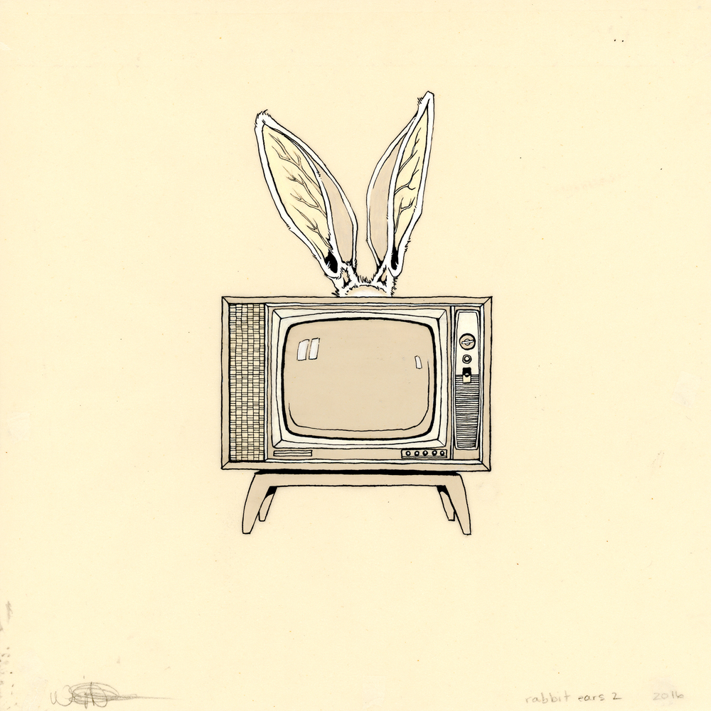 rabbit ears 2 , 2016, Wendy Anne Crittenden