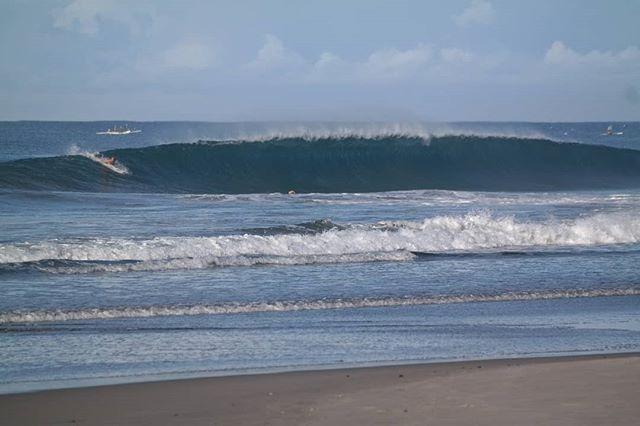 Backyard morning view. . . . #krui #surf #sumatra #accommodation #beach