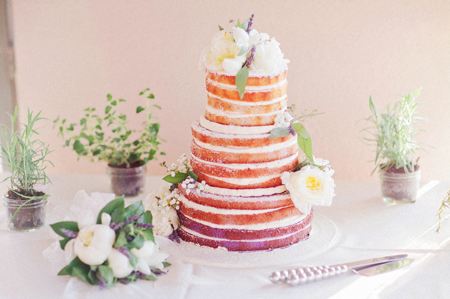 naked-wedding-cake-lavender