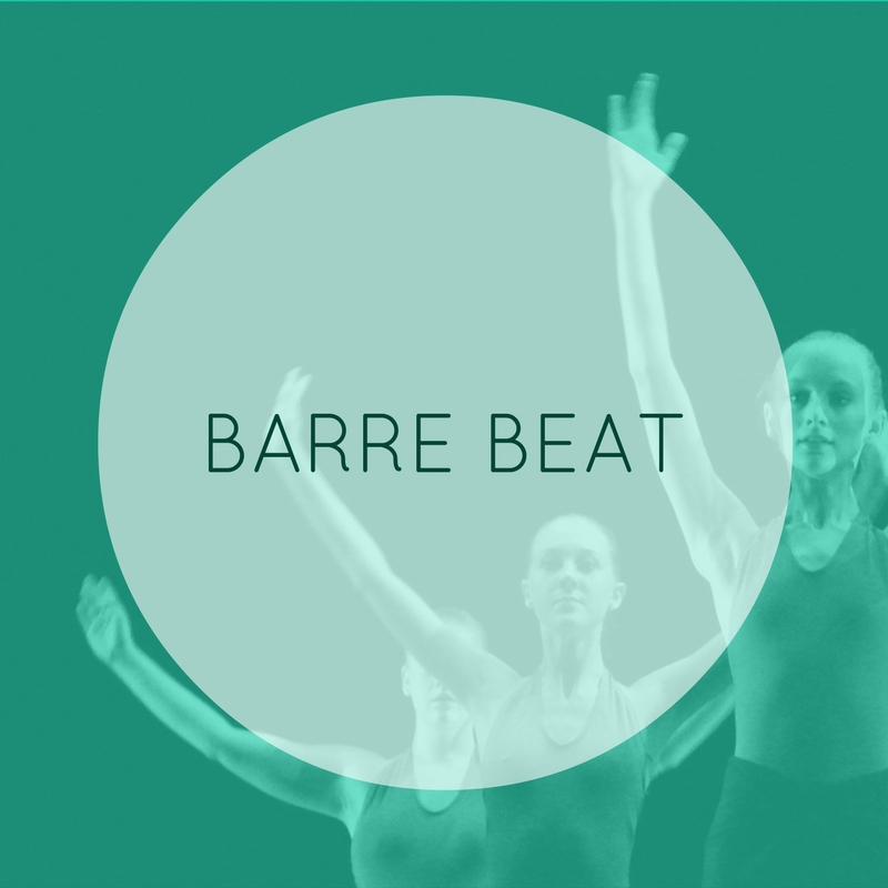 High energy & invigorating full body workout. This class combines body weight, resistance bands, balls, and cardio to incredibly fun music. This is a great class if you are looking to build lean muscle.  BARRE BEAT: B/I/A