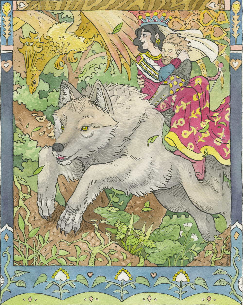 The Wolf and the Firebird