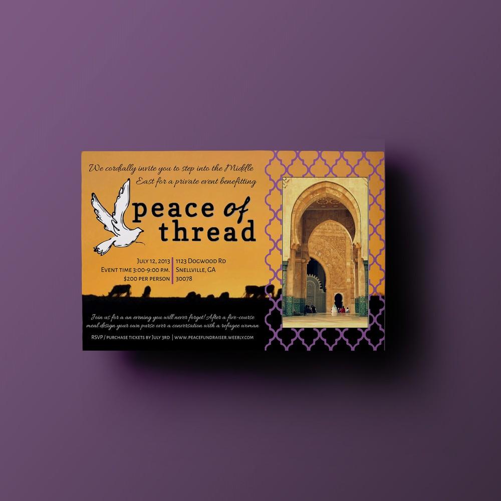 Piece of Thread Invitation