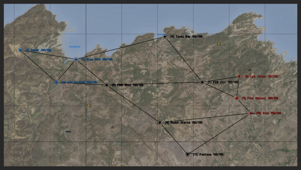 Mission Layout: Tonos Bay