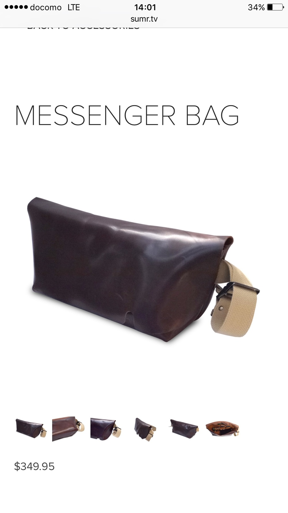 Uni & co messenger bag .