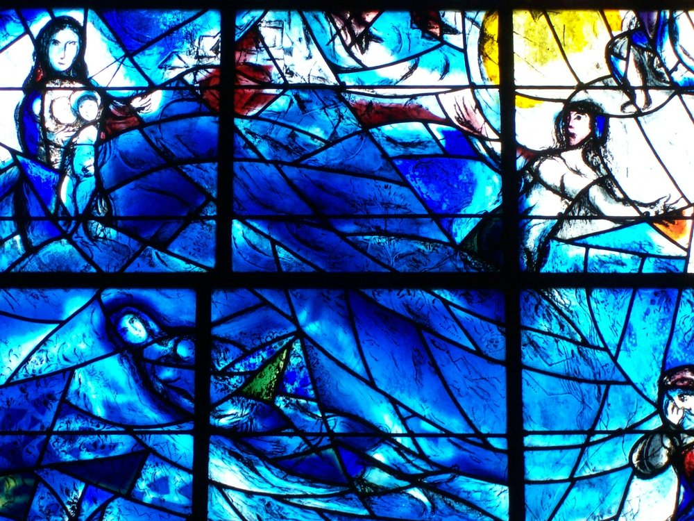 CHAGALL AND BRIGHT PLANET    Helen Caddick   Bright Planet   20/02/2016    Tudeley Church, Tonbridge