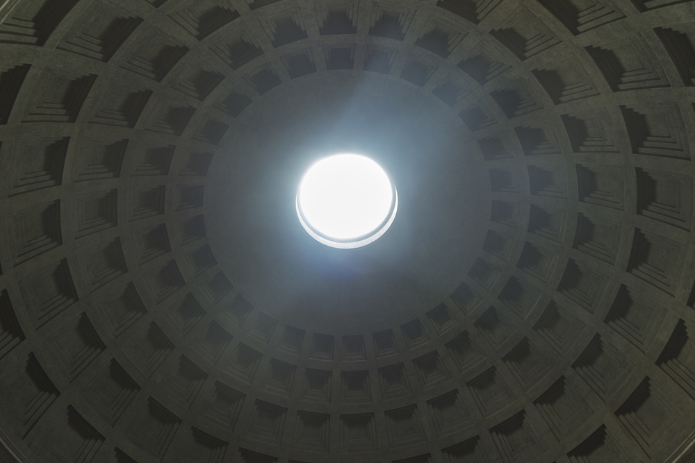The dome from the inside.