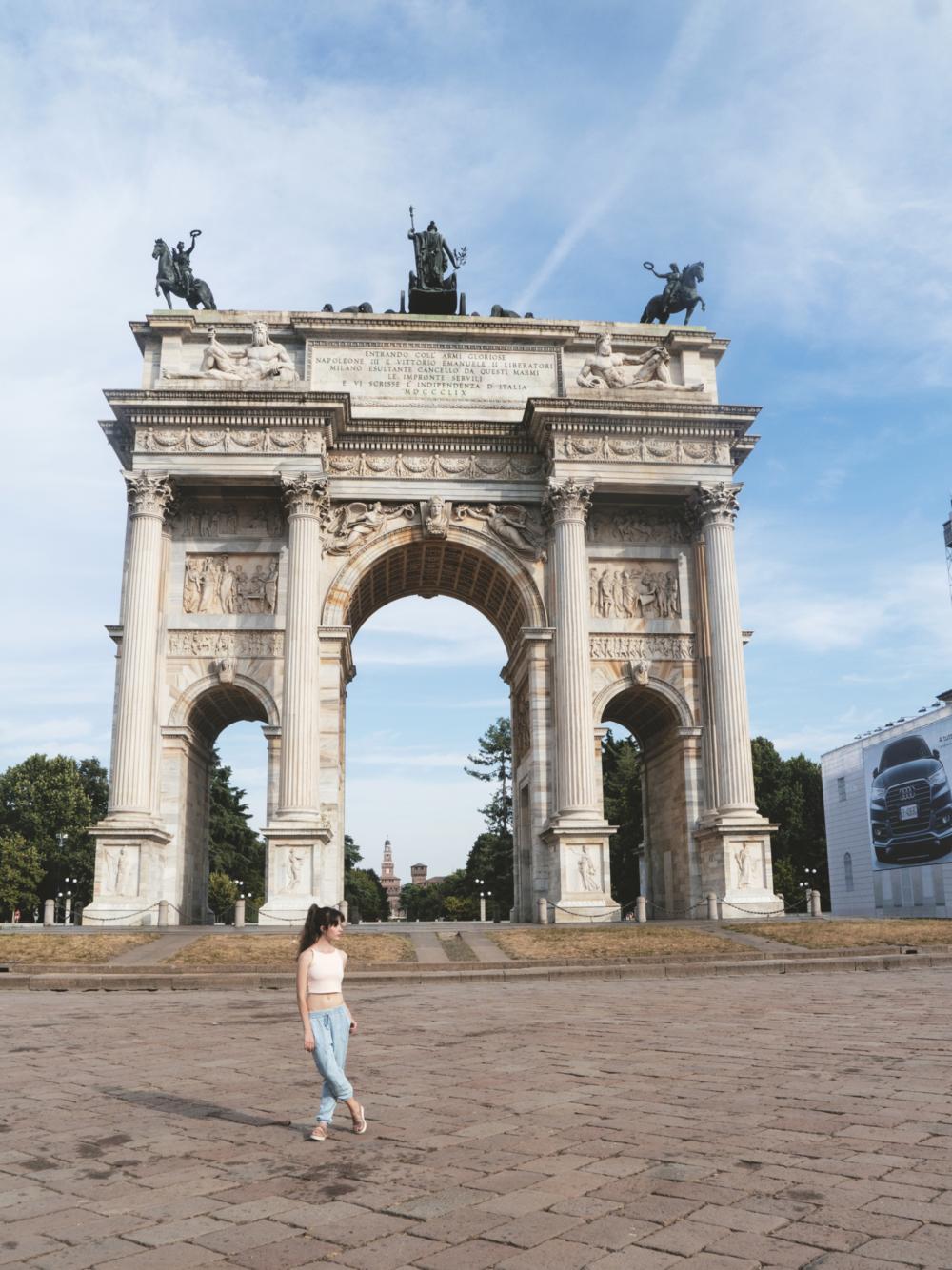 Arco della Pace.