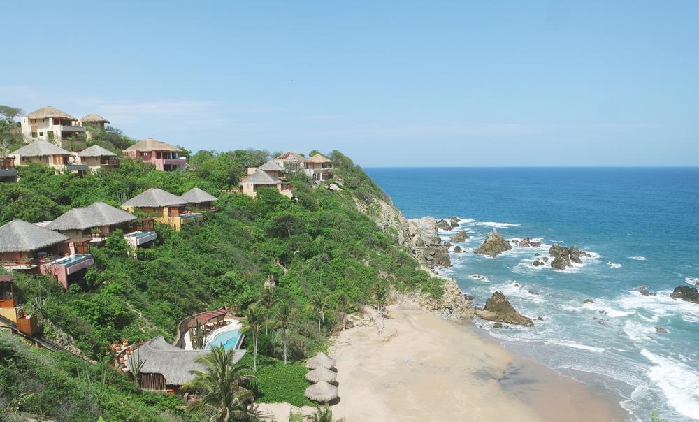 El increíble Montecito visto desde las alturas.