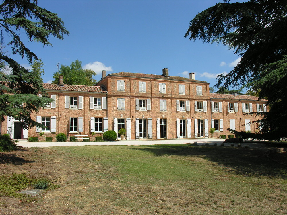 The Château de Sauveterre, where all boys spend a term learning French during their time at Cothill