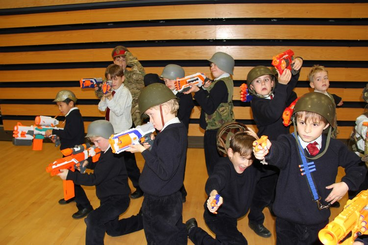 Best Nerf Battle Ever!