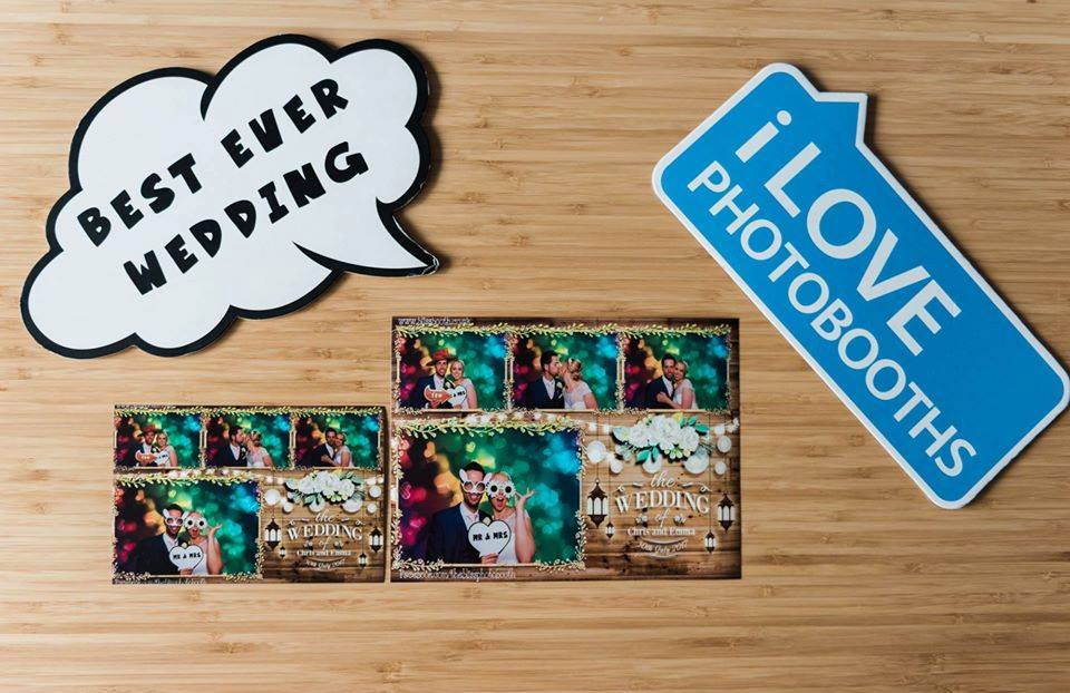 Large photo booth prints