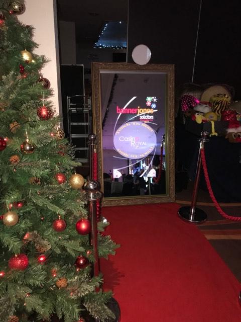 Magic mirror christmas party