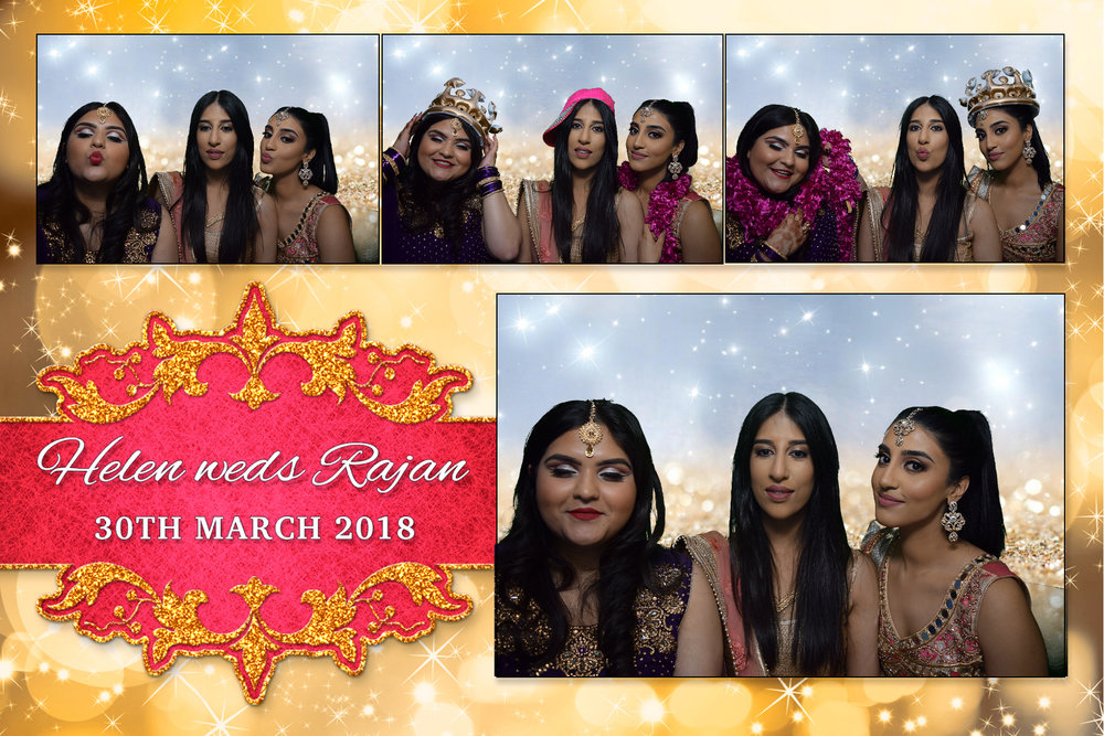 Helen &  Rajan - Doncaster Racecourse 30th March  2018