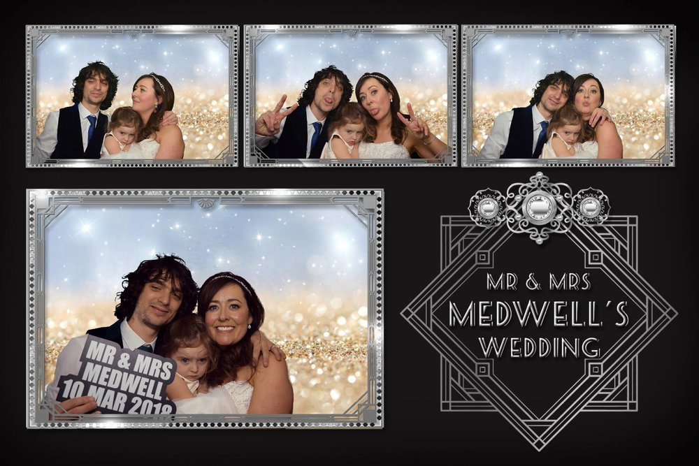 Mr and Mrs Medwell - March 2018