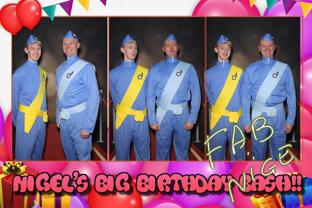 Nigel's Big birthday bash - Sheffield Hilton Hotel