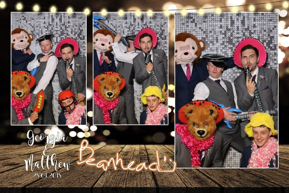 Georgia & Matthew - Mercure Bankfield Hotel Bradford - Selfie Mirror