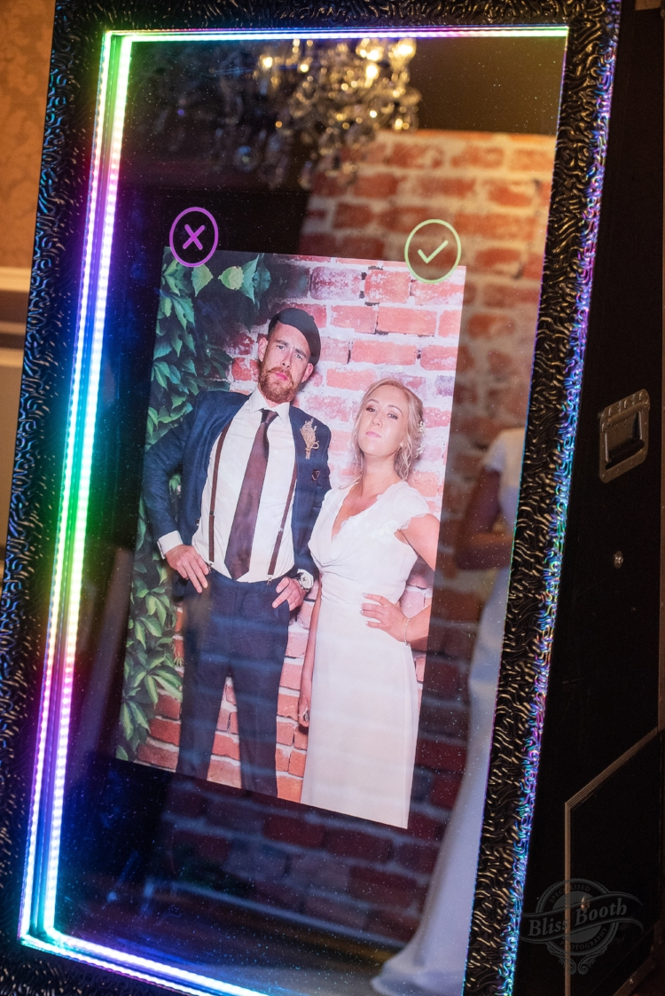 Sheffield wedding photobooth hire hilton hotel
